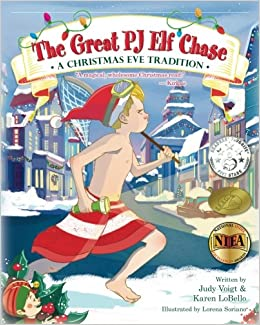 Chase Christmas Eve Hours.The Great Pj Elf Chase A Christmas Eve Tradition Judy