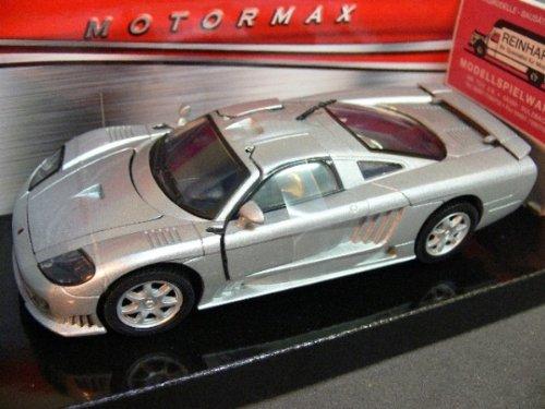 Saleen Motormax 2004 S7 1:24 Die Cast Car Silver