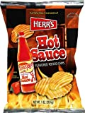 Herr's - Texas Pete Hot Sauce Potato Chips, Pack of 42 bags