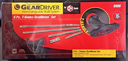 (KDT8906 KD Tools 6 Piece GearDriver T-Handle Socket Driver Set )