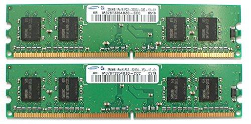 - SAMSUNG 256MB PC2-3200U DDR2 MEMORY M378T3253FG0-CCCDS