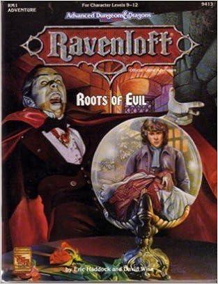 Book Roots of Evil (AD&D: Ravenloft Adventure RM1)