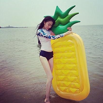 Youpin gigante piña fiesta en la piscina flotador Balsa ...