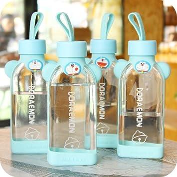 Niños creativos conjuntos de soporte de cristal (silicona), diseño de verano de tazas