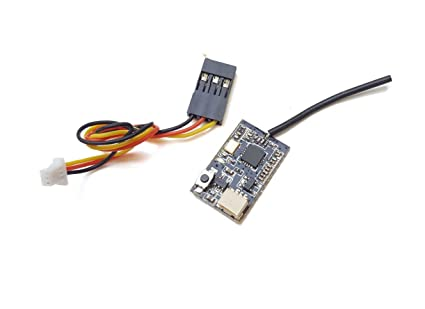Usmile FS82 2 4G Micro Receiver for Flysky Micro Carbon Fiber Quad Frame  FPV Racing Drone Support for AFHDS 2A IBUS PPM