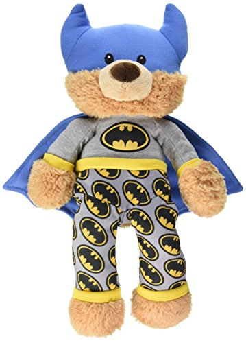 GUND DC Comics Batman Bedtime Pal Teddy Bear Stuffed Animal Plush, 15