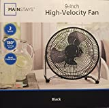 MAINSTAYS 9 inch High Velocity Fan