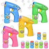 Best Bubble Guns - FUN LITTLE TOYS 4 Bubble Guns LED Light Review