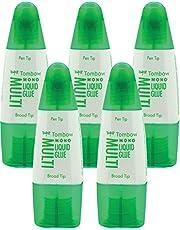 Tombow PT de MTC–Pegamento líquido, Multi Talent con dos puntas, 25g