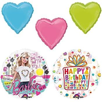 Amazon.com: Anagram Internacional Barbie Sparkle Cumpleaños ...