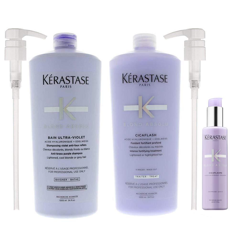 Blond ! Super beauty product restock quality top! Absolu Bain Ultra-Violet 34 Treatment Super beauty product restock quality top Cicaflash Shampoo