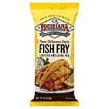 Louisiana Fish Fry New Orleans Style Lemon Mix, 10-Ounce (Pack of 12)