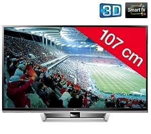 "LG 42PM4700 - Televisor Plasma, 42"" (720p, Smartphone Control, 3 HDMI, DLNA), color plata"
