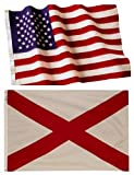 Alabama State Flags (5×8 US Combo) For Sale