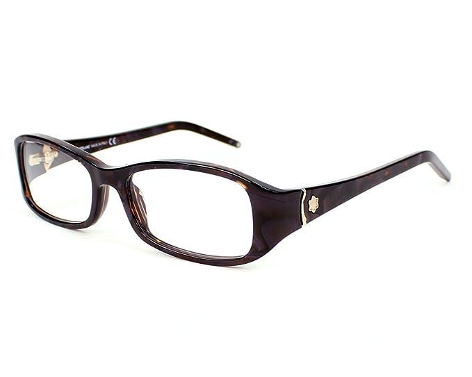 45037741970 Amazon.com  Mont Blanc eyeglasses MB 351 083 Acetate Purple Marble  Clothing