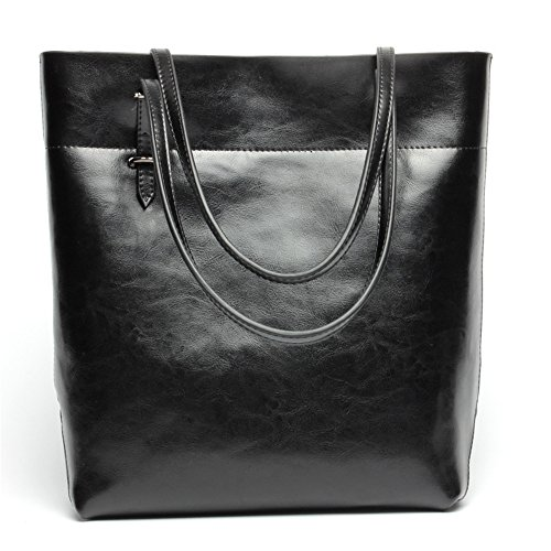 color Bag Shoulder Lady Casual Fashion Travel Black Handbag Xuanbao Black Leather Brown Bag pqwvRa8