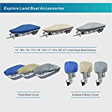 Explore Land Pedal Boat Cover - Waterproof Heavy