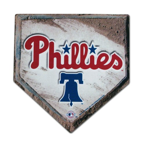 MLB Philadelphia Phillies Home Plate Design Mouse Pad