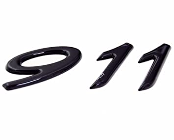 911 Carta Tapa de Cubierta trasera para HATCH Insignia Emblema para Porsche Carrera Cayenne Boxter Panamera