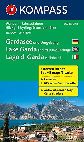 Cartina Topografica Lago Di Garda.Amazon It Carta Escursionistica N 697 Lago Di Garda E Dintorni 1 35 000 Adatto A Gps Digital Map Dvd Rom Kompass Karten Libri