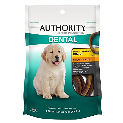 Authority Dental Puppy Teething Rings Dog Treat by Authority by Authority