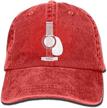 Acoustic Guitars Men's Classic Baseball...