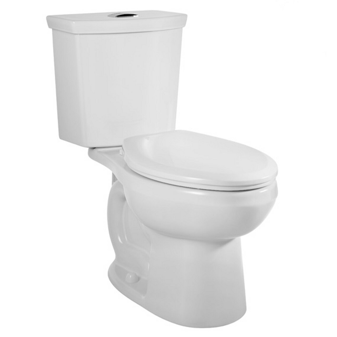 American Standard 2886.516.020 H2Option Dual-Flush Right-Height Elongated Two-Piece Toilet Combo with Liner, White