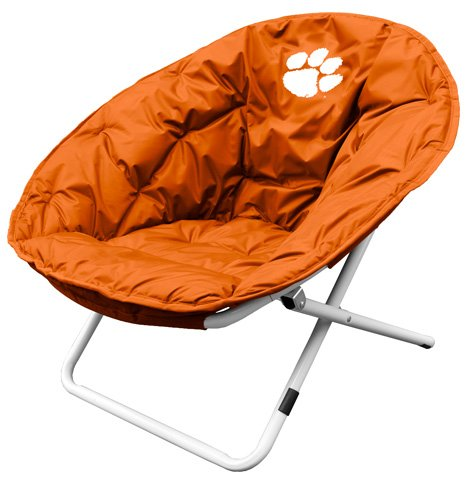 Clemson University Tigers Sphere Folding Papasan Chair