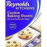 Reynolds Cookie Baking Sheets Non-Stick Parchment Paper, 22 Sheets