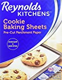 #4: Reynolds Kitchens Cookie Baking Sheets Parchment Paper (Non-Stick, 22 Sheets)
