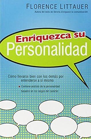 Enriquezca su Personalidad (Spanish Edition) by Florence Littauer (2007-06-30) (Florence Littauer Spanish)