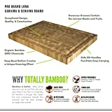 Totally Bamboo Pro Board Long Bamboo Carving and