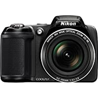 Nikon COOLPIX L320 16MP 720p HD Video Black Digital Camera (Certified Refurbished) Benefits Review Image