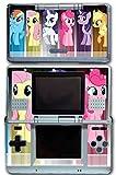 My Little Pony Friendship is Magic MLP Friends Twilight Sparkle Rarity Rainbow Dash Fluttershy Pinkie Pie Apple Jack Video Game Vinyl Decal Skin Sticker Cover for Original Nintendo DS System