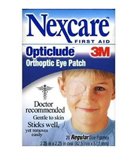 Nexcare Opticlude Orthoptic Eye Patch (Nexcare Hypoallergenic Eye Patch)