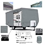 Deluxe SavvyCraft 15' -16' Travel Trailer - Breathable and Water Repellant Travel Trailer Camper Cover
