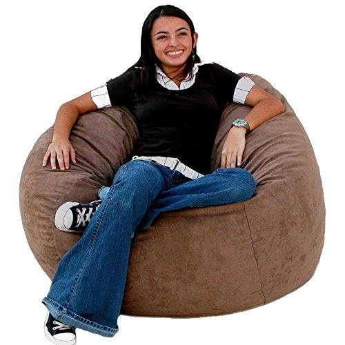 Amazon Com Cozy Sack 3 Feet Bean Bag Chair Medium Earth