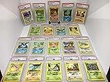#2: Complete Pokemon 1st Edition Shadowless Autograph Illustrator Set Mitsuhiro Arita PSA