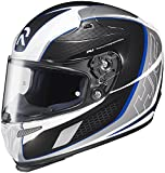 HJC Helmets Cage MC-2 Graphic RPHA 10 Full Face Helmet (Black/Blue/Silver, X-Large)
