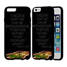 Merder House Of Candles Grey S Anatomy Case For Apple iPhone 6 Plus or iPhone 6S Plus Cover Back Hard Plastic Case - Black QU