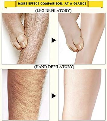 Crema depilatoria, removedor de vello de axilas sin dolor para la piel, crema depilatoria para el cuidado del cuerpo de la piel para las piernas axila 40g: Amazon.es: Belleza