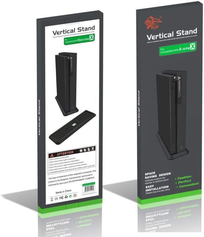 Soporte Vertical para Xbox One X Consola, Negro: Amazon.es ...