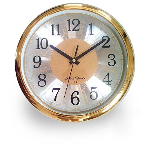bekith 12inch aluminium wall clock