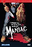 Maniac (30th Anniversary Edition) cover.