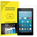 "JETech Screen Protector for Amazon Fire HD 8"" (2017 and 2016 Model), Tempered Glass Film"