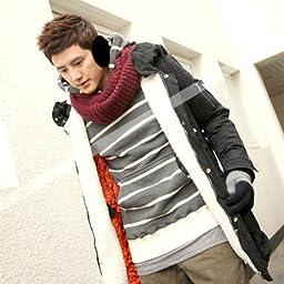 Healtheveryday® Unisex New Men Women Winter Ear Muffs Warmers Pad Fleece Cover Wraps Earmuffs Earwarmers Fit Most (Black)