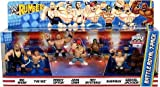 WWE Wrestling Rumblers Exclusive Mini Figure Battle Royal 7Pack Big Show, The Miz, Randy Orton, John Cena, Rey Mysterio, Sheamus Ezekiel Jackson