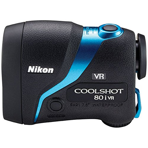 Nikon COOLSHOT 80i VR Golf Laser Rangefinder (16205) Bundle w All Weather Sport Case + Abbigliamento Sportivo SRL Deluxe Folding Umbrella + Lens Cleaning Pen by Nikon (Image #3)