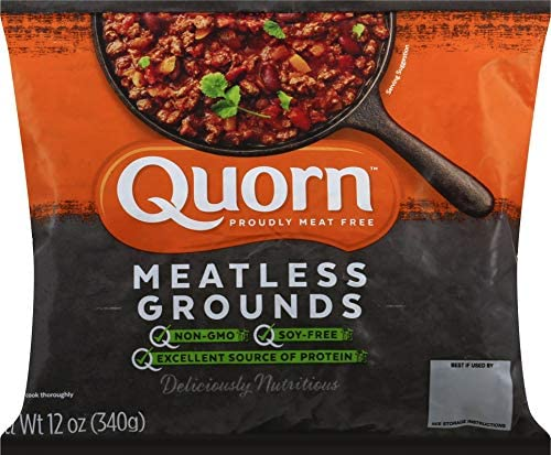 Quorn, Meatless & Soy Free Grounds, 12 oz (Frozen)