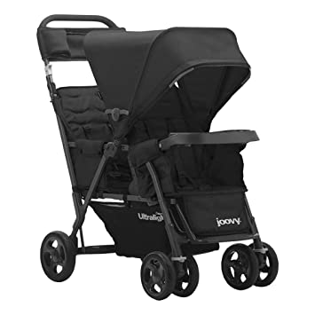 PART ONLY For Joovy Caboose Ultralight Double Stroller Front Wheel